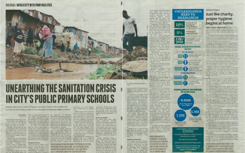 Unearthing the sanitation crisis within Nairobi's public schools