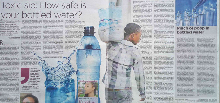 Toxic sip: How safe is your bottled water?
