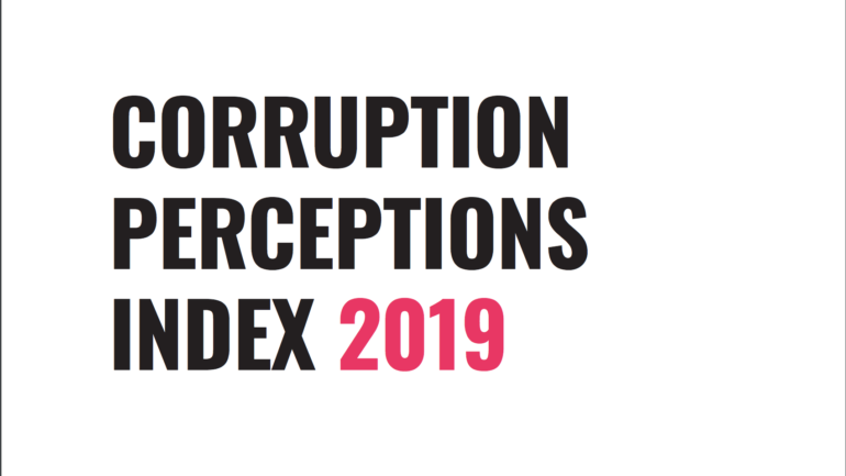 Corruption Perception Index 2019