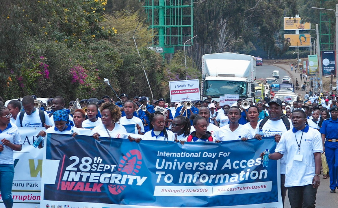Integrity Walk 2019 – Marking the International Day for Universal Access to Information