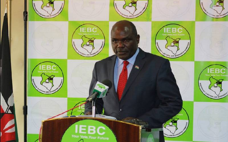 IEBC Contribution Towards COVID-19 Emergency Response Fund