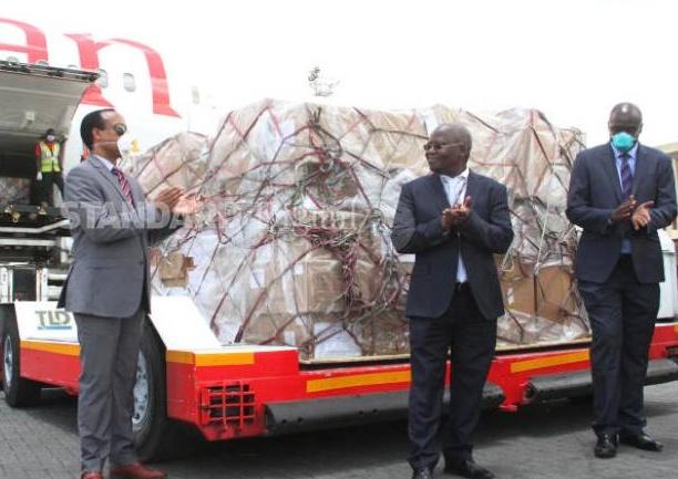 Kenya receives test kits donation from Jack Ma