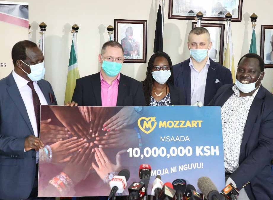 Mozzartbet donates medical equipment worth Sh10 million towards Covid-19 pandemic fight