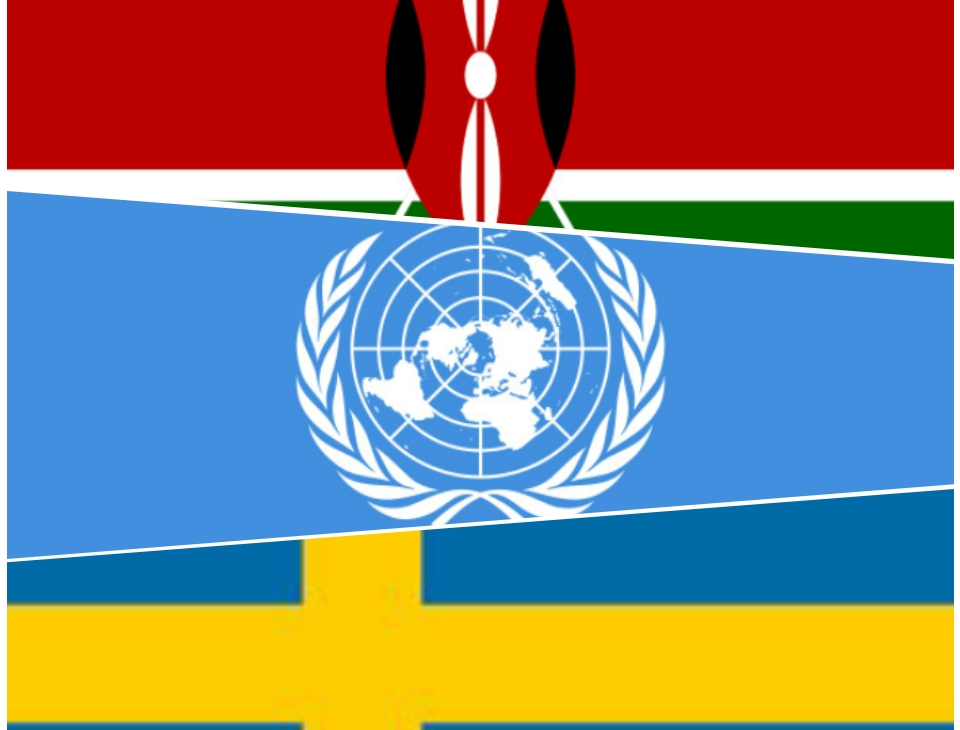 Embassy of Sweden in Kenya announced 10 Million USD donation for COVID-19