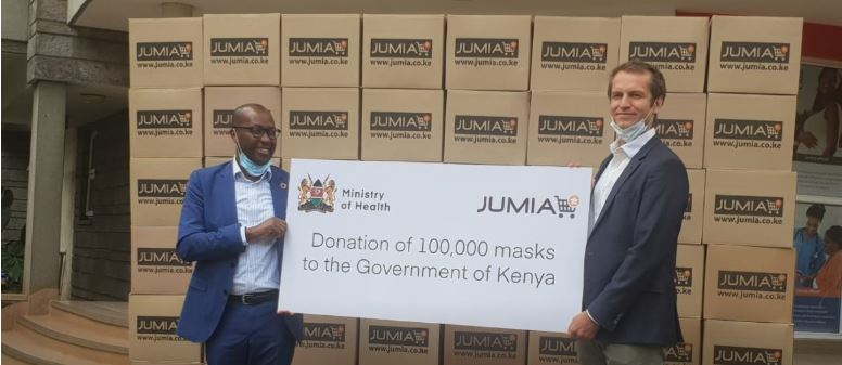 Jumia donates 100,000 masks to support Community Health Workers in Kenya fighting COVID-19