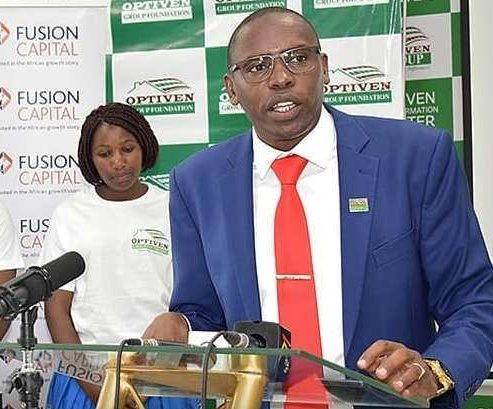 Donation by Optiven Group