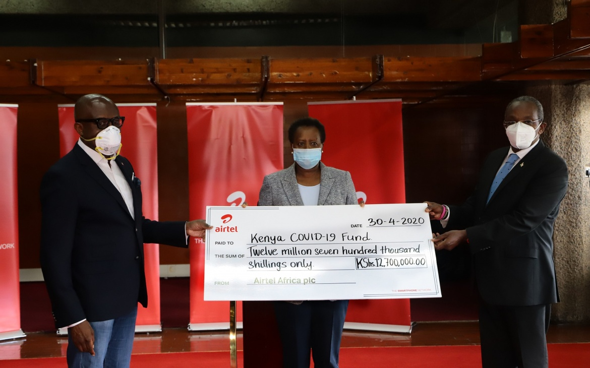 Airtel Staff Contribute Ksh 12.7 Million
