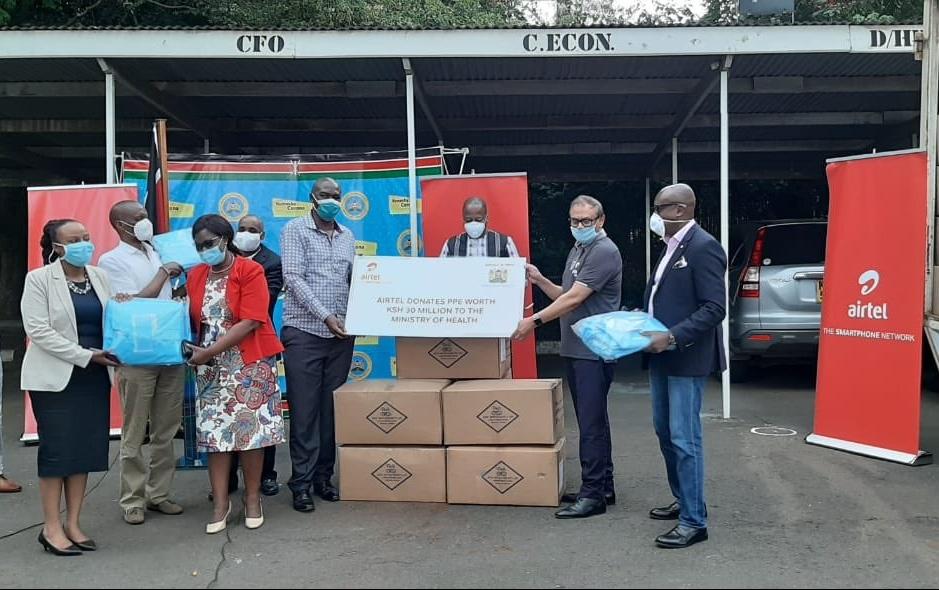Airtel Donates PPEs worth 30m
