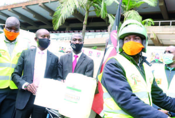 Kenya Pipeline Donates 24,000 Litres of Hand Sanitisers for Public Use