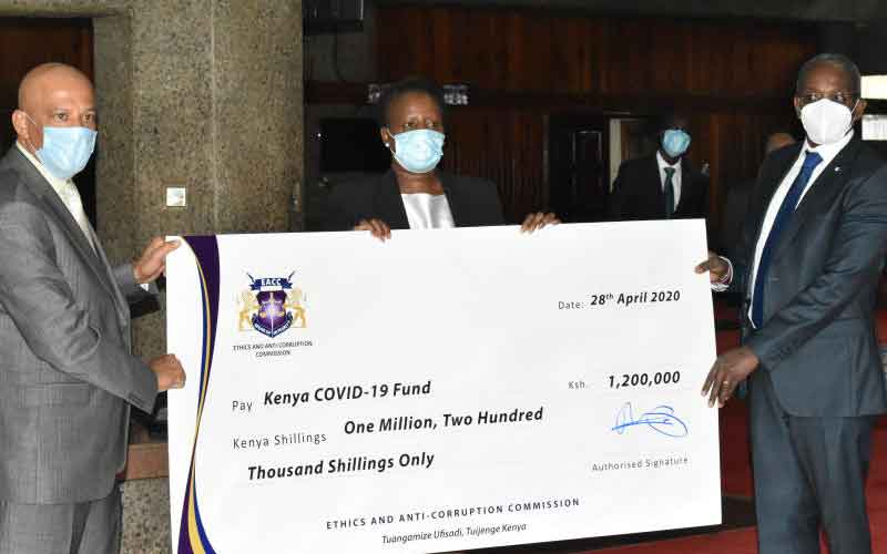 EACC Staff Contribute Ksh 1.2m