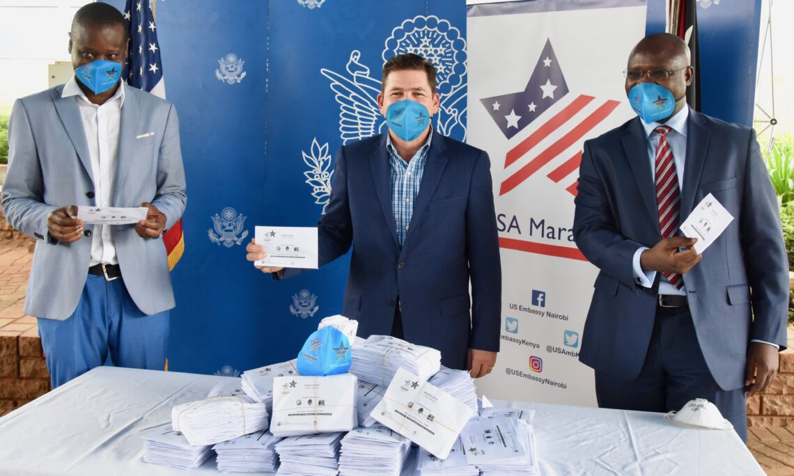 United States Donates Facemasks to Protect Kenyan Journalists on Frontlines of COVID-19 Reporting