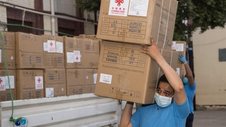 Chinese businessmen donate 70,000 face masks to Kenya to curb COVID-19