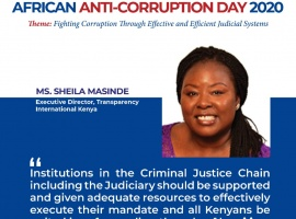 A4T Participates at The Commemoration of African Anti-Corruption Day (AACD) 2020